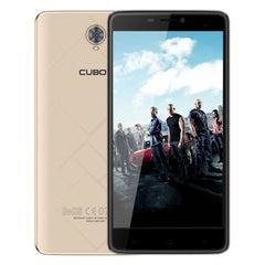 CUBOT Max 32GB Network: 4G 4100mAh Big Battery Support 2.4GHz / 5GHz Dual Band WiFi 6.0 inch Big IPS Screen Display Android 6.0 OS MT6753A Octa Core RAM: 3GB(Gold)