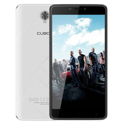 CUBOT Max 32GB Network: 4G 4100mAh Big Battery Support 2.4GHz / 5GHz Dual Band WiFi 6.0 inch Big IPS Screen Display Android 6.0 OS MT6753A Octa Core RAM: 3GB(White)