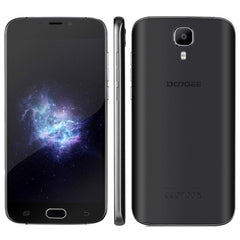 DOOGEE X9 Pro 2GB+16GB DTouch Fingerprint 5.5 inch 2.5D Android 6.0 MTK6737 Quad Core Network: 4G OTG OTA Dual SIM(Black)