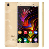 [HK Stock] OUKITEL C5 Pro 2GB+16GB 5.0 inch Android 6.0 MTK6737 Quad Core up to 1.3GHz Network: 4G Dual SIM OTA(Gold)