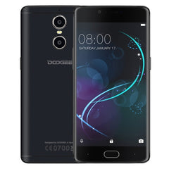 DOOGEE Shoot 1 16GB Network: 4G Dual Rear Cameras DTouch Fingerprint 5.5 inch 2.5D Android 6.0 MTK6737T Quad Core up to 1.45GHz RAM: 2GB OTG WiFi BT GPS (Black)