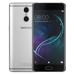 DOOGEE Shoot 1 16GB Network: 4G Dual Rear Cameras DTouch Fingerprint 5.5 inch 2.5D Android 6.0 MTK6737T Quad Core up to 1.45GHz RAM: 2GB OTG WiFi BT GPS(Grey)