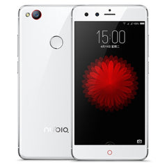 ZTE Nubia Z11 Mini NX529J 3GB+64GB Fingerprint Identification 5.0 inch Noubia UI 3.9.6 (Android 5.1) Qualcomm Snapdragon 617 (MSM8952) Octa Core 4 x 1.5GHz + 4 x 1.2GHz Network: 4G(White)