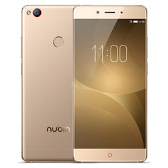 ZTE Nubia Z11 NX531J 4GB+64GB Fingerprint Identification 5.5 inch Nubia UI 4.0 (Android 6.0) Qualcomm Snapdragon 820 (MSM8996) Quad Core up to 2.15GHz Network: 4G(Gold)