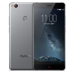 ZTE Nubia Z11 NX531J 6GB+64GB Fingerprint Identification 5.5 inch Nubia UI 4.0 (Android 6.0) Qualcomm Snapdragon 820 (MSM8996) Quad Core up to 2.15GHz Network: 4G(Grey)