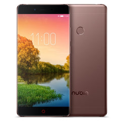 ZTE Nubia Z11 NX531J 6GB+128GB Fingerprint Identification 5.5 inch Noubia UI 4.0 (Android 6.0) Qualcomm Snapdragon 820 (MSM8996) Quad Core up to 2.15GHz Network: 4G(Coffee)