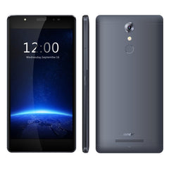LEAGOO T1 Plus Phone 16GB Network: 4G Stylish Selfie Fingerprint ID 3.0 5.5 inch 2.5D Arc Android 6.0 MTK6737 Quad Core up to 1.3GHz RAM: 3GB (Titanium Grey)