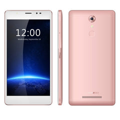 LEAGOO T1 Plus Phone 16GB Network: 4G Stylish Selfie Fingerprint ID 3.0 5.5 inch 2.5D Arc Android 6.0 MTK6737 Quad Core up to 1.3GHz RAM: 3GB(Rose Gold)