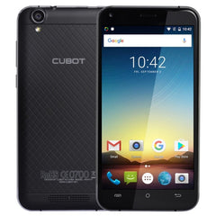 CUBOT Manito 16GB Network: 4G 5.0 inch Android 6.0 MTK6737 Quad-Core 1.3GHz RAM: 3GB Dual SIM(Black)