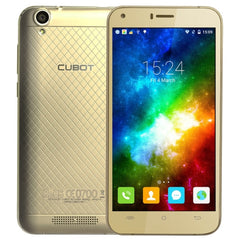 CUBOT Manito 16GB Network: 4G 5.0 inch Android 6.0 MTK6737 Quad-Core 1.3GHz RAM: 3GB Dual SIM(Gold)