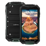 Geotel A1 Triple Proofing Phone 8GB Network: 3G Waterproof Dustproof Shockproof 4.5 inch Android 7.0 MTK6580M Quad Core RAM: 1GB GPS BT WiFi FM Dual SIM(Green)