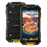 Geotel A1 Triple Proofing Phone 8GB Network: 3G Waterproof Dustproof Shockproof 4.5 inch Android 7.0 MTK6580M Quad Core RAM: 1GB GPS BT WiFi FM Dual SIM(Yellow)
