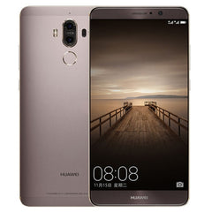 Huawei Mate 9 MHA-AL00 6GB+128GB Dual Rear Cameras Fingerprint Identification 5.9 inch EMUI 5.0 (Android 7.0) Kirin 960 Octa Core up to 2.4GHz Network: 4G OTG  (Mocha Gold)