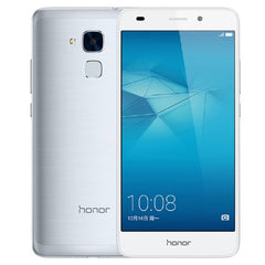 Huawei Honor 5C NEM-AL10 3GB+32GB Fingerprint Identification 5.2 inch EMUI 4.1 Hisilicon Kirin 650 Octa Core up to 2.0GHz  Network: 4G WiFi BT GPS Dual SIM(Silver)