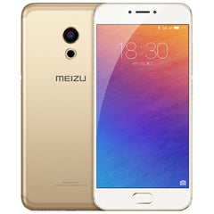 MEIZU PRO 6s M570Q-S 4GB+64GB 3D Press Technology mTouch Fingerprint Identification Dual Camera mCharge 3.0 3060mAh Battery 5.2 inch AMOLED Screen Meizu Flyme Android OS Helio X25 Ten Core Network: 4G(Champagne Gold)