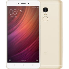 Xiaomi Redmi Note 4 3GB+32GB Back Fingerprint Identification 5.5 inch MIUI 8.0 MTK Helio X20 Deca Core up to 2.1GHz Network: 4G(Gold)