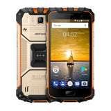 [HK Stock] Ulefone Armor 2 Triple Proofing Phone 6GB+64GB IP68 Waterproof Dustproof Shockproof Fingerprint Identification 5.0 inch Sharp Android 7.0 MTK Helio P25 Octa Core 64-bit up to 2.6GHz Network: 4G NFC OTG Dual SIM(Gold)