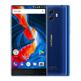 [HK Stock] Ulefone MIX 4GB+64GB Front Fingerprint Identification Dual Back Cameras 5.5 inch Android 7.0 MTK6750T Octa Core 64-bit up to 1.5GHz OTG Network: 4G Dual SIM (Blue)