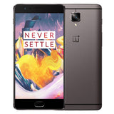 OnePlus 3T A3010 6GB+128GB Fingerprint Identification Double 16.0MP Cameras 5.5 inch 2.5D Arc Oxygen 2.5 Android 6.0 Qualcomm Snapdragon 821 Quad Core up to 2.35GHz Support NFC Network: 4G(Grey)