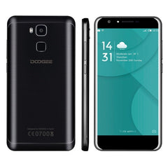 DOOGEE Y6 2GB+16GB Fingerprint Identification 5.5 inch Android 6.0 MTK6750 64-Bit Octa core Network: 4G Dual SIM(Black)