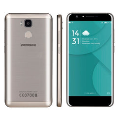 DOOGEE Y6 2GB+16GB Fingerprint Identification 5.5 inch Android 6.0 MTK6750 64-Bit Octa core Network: 4G Dual SIM(Gold)