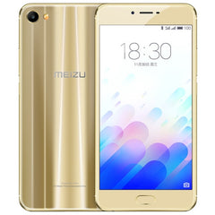 Meizu Meilan X M682Q 3GB+32GB mTouch Fingerprint Identification mCharge Quick Charge SONY IMX386 CMOS Camera 5.5 inch Dual 2.5D Arc Curved Screen Meizu Flyme 5 (Based on Android 6.0 OS) Helio P20 Octa Core 1.6GHz Network: 4G/3G/2G(Fluxay Gold)