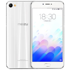 Meizu Meilan X M682Q 3GB+32GB mTouch Fingerprint Identification mCharge Quick Charge SONY IMX386 CMOS Camera 5.5 inch Dual 2.5D Arc Curved Screen Meizu Flyme 5 (Based on Android 6.0 OS) Helio P20 Octa Core 1.6GHz Network: 4G/3G/2G(Pearl White)