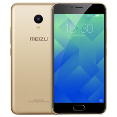 Meizu M5 M611A 2GB+16GB mTouch Fingerprint Identification Dual SIM Dual Camera 5.2 inch 2.5D Arc Curved Screen Meizu Flyme 5 (Based on Android 6.0 OS) MT6750 Octa Core 1.5GHz Network: 4G/3G/2G(Champagne Gold)