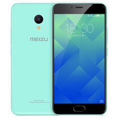 Meizu M5 M611A 3GB+32GB mTouch Fingerprint Identification Dual SIM Dual Camera 5.2 inch 2.5D Arc Curved Screen Meizu Flyme 5 (Based on Android 6.0 OS) MT6750 Octa Core 1.5GHz Network: 4G/3G/2G(Mint Green)
