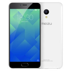 Meizu M5 M611A 3GB+32GB mTouch Fingerprint Identification Dual SIM Dual Camera 5.2 inch 2.5D Arc Curved Screen Meizu Flyme 5 (Based on Android 6.0 OS) MT6750 Octa Core 1.5GHz Network: 4G/3G/2G(White)