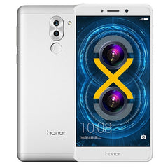 Huawei Honor 6X BLN-AL10 4GB+64GB Dual Rear Camera Fingerprint Identification 5.5 inch Android 6.0 Kirin 655 Octa Core 2.1GHz  Network: 4G(Silver)