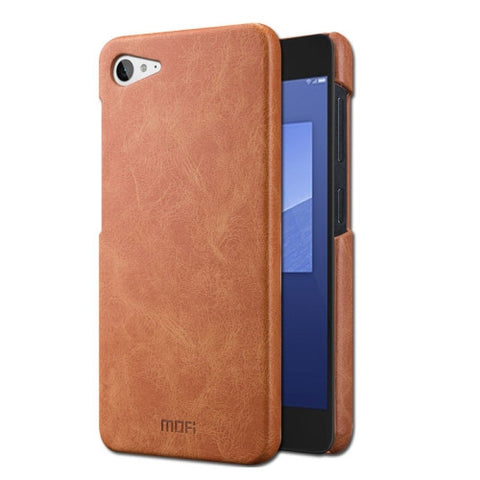 MOFI for Lenovo ZUK Z2 Crazy Horse Texture Leather Surface PC Protective Case Back Cover(Brown)