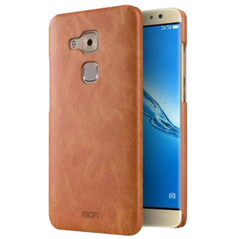 MOFI Huawei Maimang 5 Crazy Horse Texture Leather Surface PC Protective Case Back Cover(Brown)