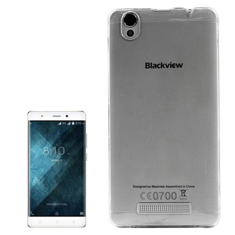 OCUBE Blackview A8 (MPH1001) Transparent PC Protective Case Back Cover Shell(Transparent)