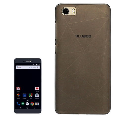 OCUBE BLUBOO Picasso (MPH1833/MPH1064) PC Protective Case Back Cover Shell(Grey)