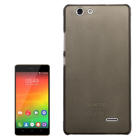 OCUBE OUKITEL C4 (MPH1448) PC Protective Case Back Cover Shell(Grey)