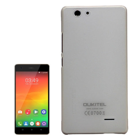 OCUBE OUKITEL C4 (MPH1448) PC Protective Case Back Cover Shell(Transparent)
