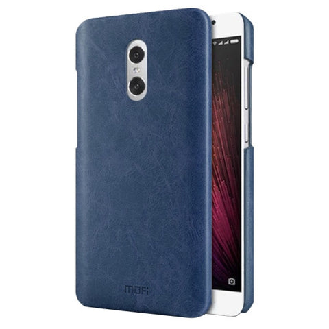 MOFI Xiaomi Redmi Pro Crazy Horse Texture Leather Surface PC Protective Case Back Cover(Dark Blue)