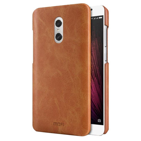 MOFI Xiaomi Redmi Pro Crazy Horse Texture Leather Surface PC Protective Case Back Cover(Brown)