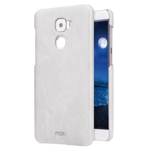 MOFI Letv Le Pro 3 Crazy Horse Texture Leather Surface PC Protective Case Back Cover(White)
