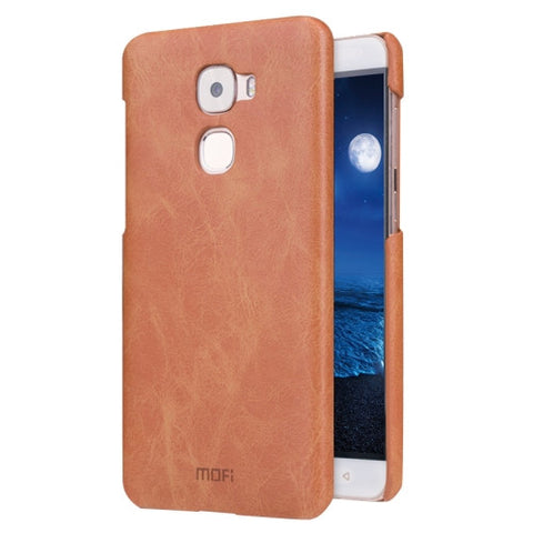 MOFI Letv Le Pro 3 Crazy Horse Texture Leather Surface PC Protective Case Back Cover(Brown)