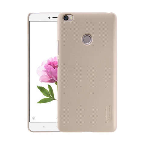 NILLKIN Frosted Shield Xiaomi Mi Max Concave-convex Texture PC Protective Case Back Cover(Gold)