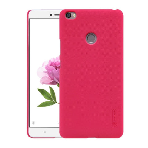 NILLKIN Frosted Shield Xiaomi Mi Max Concave-convex Texture PC Protective Case Back Cover(Red)