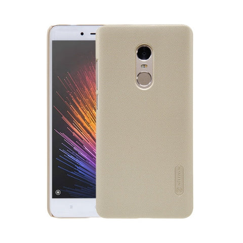 NILLKIN Frosted Shield Xiaomi Redmi Note 4 Concave-convex Texture PC Protective Case Back Cover(Gold)