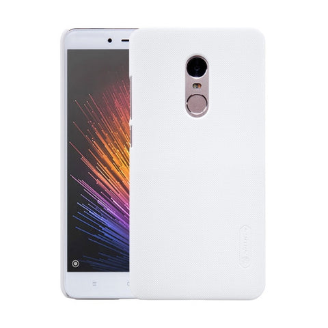 NILLKIN Frosted Shield Xiaomi Redmi Note 4 Concave-convex Texture PC Protective Case Back Cover(White)