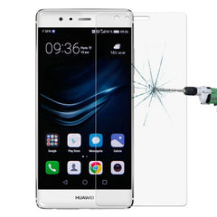 Link Dream Huawei P9 0.33mm 9H Surface Hardness 2.5D Explosion-proof Non-full Screen Tempered Glass Film