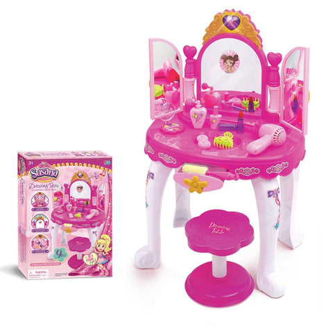 Musical Light Up Dressing Table Toy Set