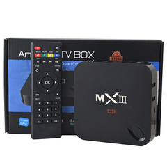 Mx3 4K Android TV Box Media Player