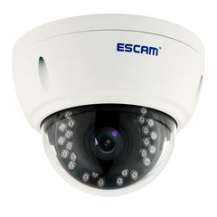 ESCAM Dome QD420 Waterproof 4.0MP Dome IP Camera Support Motion Detection / Night Vision IR Distance: 15m