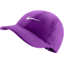 Nike Featherlight cap vivid purple and white